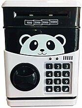 PJS Panda Elektronische Spardose, Geldkassette,