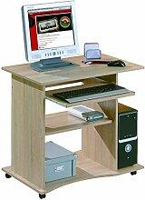 PKline Schreibtisch Dusa Sonoma Eiche Dekor Tisch