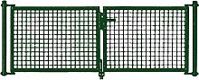 PKW Tor grün 2-frügelig 300x125cm