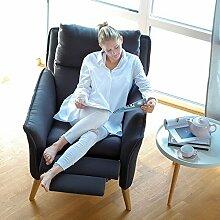 place to be! Top moderner Lounge-Relax-Sessel in Premiumqualität im skandinavischem Stil. Stillsessel Ohrensessel mit Schlaffunktion und hoher Lehne in 11 verschiedenen Stoffen und verschiedenen Massivholzarten.