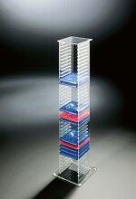 Places of Style CD-Regal Remus 20x20x101 cm