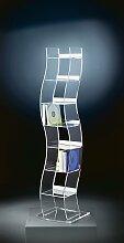 Places of Style CD-Regal Remus 25x25x100 cm
