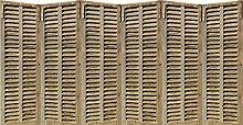 PLAGE 143528 Aufkleber für Bett-Kopfteil-Fensterladen, 60 x 160 cm