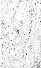 Plage Panorama-Tapete-weisser Marmor, 1,5X 2,5m