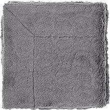 Plaid Jetra 130x180 cm dunkel grau - Tagesdecke