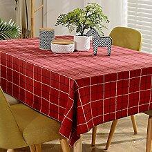 Plaid Stoff Tischdecke/Tischtuch/Wohnzimmer Zu Hause Tee Tischdecke/Moderne Einfache Tischdecke-A 90x130cm(35x51inch)