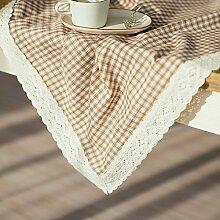 Plaid teetisch tischdecke/runder tisch/tischtuch-D 150x180cm(59x71inch)