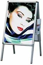 Plakatständer Prospektkorb für Flyer DIN A4