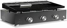 Plancha-Grill SIMPLICITY 3 Brenner mit emaillierter Stahlplatte