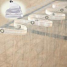 Plane Transparent Mit öSen,Wasserdichte