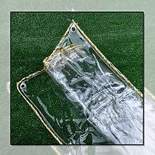Plane Wasserdicht, Transparent Abdeckplane Folie