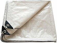 Planen DUO Abdeckungs-Weiß-PET wasserdicht, groß