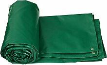 Planen DUO sonnenschutz tuch wasserdichte isolierung sonnenschutz außen leinwand dicker regen tuch wasserdicht tuch Farbe : 2 green, größe : 4*3m (actual 3.85*2.85m)