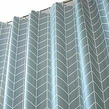 Planen Duschvorhang Set Free Punching Bad Vorhang