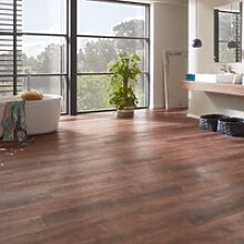 planeo Objekt Plus - Golden Oak Brown Klick-Vinyl