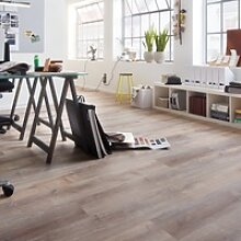 planeo Objekt Plus - Golden Oak White Klick-Vinyl