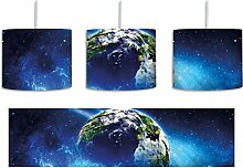 Planet Erde inkl. Lampenfassung E27, Lampe mit