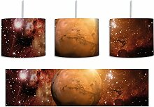 Planet Mars im Universum inkl. Lampenfassung E27,
