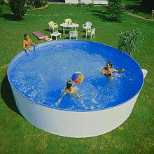 Planet Pool - Stahlwandpool Rundbecken 400 x 84 cm