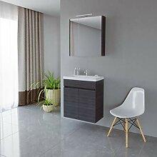 Planetmöbel Waschtisch + Spiegelschrank Badmöbel