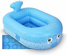 Planschbecken, 110 cm aufblasbarer Pool für
