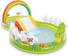 Planschbecken 290x180x104cm Für Kinder Baby Mit