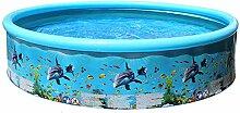 Planschbecken, aufblasbares Schwimmbad Ocean Fish