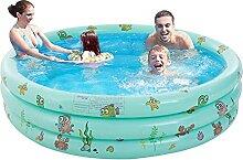 Planschbecken für Kinder, Aufblasbarer Pool