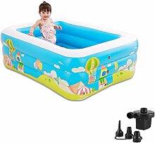 Planschbecken Kinder Aufblasbarer Pool