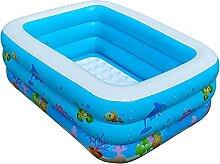 Planschbecken Kinder Aufblasbares Pool 130 x 90 x