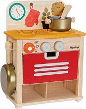 Plantoys Kinderküche aus Holz im Set, inkl.