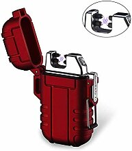 Plasma-Feuerzeug, Teepao Dual Arc Lighter, USB