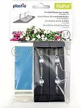 Plastia FixPot Halterung Blumenkasten Fensterbank