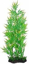 Plastic Aquarium Decor bamboeplant, 37cm, groen / geel