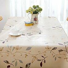 Plastik-PVC-Tischdecke Wischen Sauberes