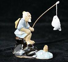 PLAT FIRM KEIM SEEDS: Chinese Mudman Figurine Mann