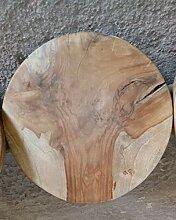 Platte Dreifuß Hackbrett von 32 bis 35 cm