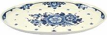Platte oval Delft Blau 36cm Royal Goedewaagen