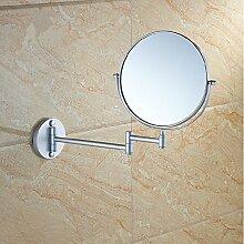 Platz Aluminium Lieblingsthemen hängenden Spiegel doppelseitiger Spiegel Spiegel im Bad,Matt,6-Zoll