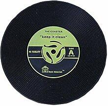 Platz-Matten Silikagel-Vintage-CD Aufzeichnungen