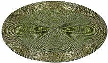 Platzset, 2-teiliges Set, 30 cm, Perlen grün