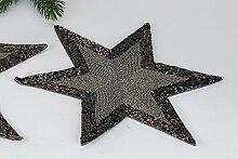 Platzset Stern, Sternset, 28cm, Untersetzer, mit