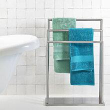 Platzsparender Handtuchhalter aus Edelstahl