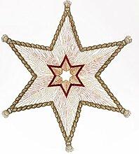Plauner Spitze® 27 x 27 cm, Spitzen Star