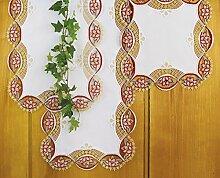Plauner Spitze® 6,7 x 12,2 cm, Tischläufer mit