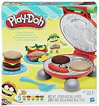Play-Doh Burger Grill-Set Originalverpackung