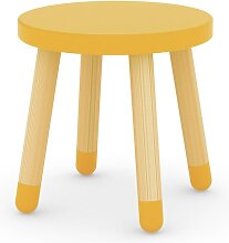 Play - Kinderhocker - Gelb