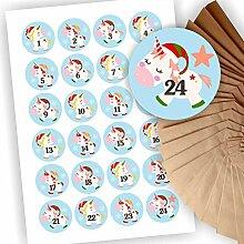 Play-Too Adventskalender zum Befüllen 24 braune