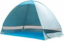 Play Zelt Outdoor Zelt Beach Zelte Schutzdach UV-Sonnenschutz Sofortiges Zelte Outdoor Pop-Up Beach Zelt verwendet in Garten Terrasse Park Beach
