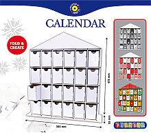 Playbox - Adventskalender zum Selberbasteln und